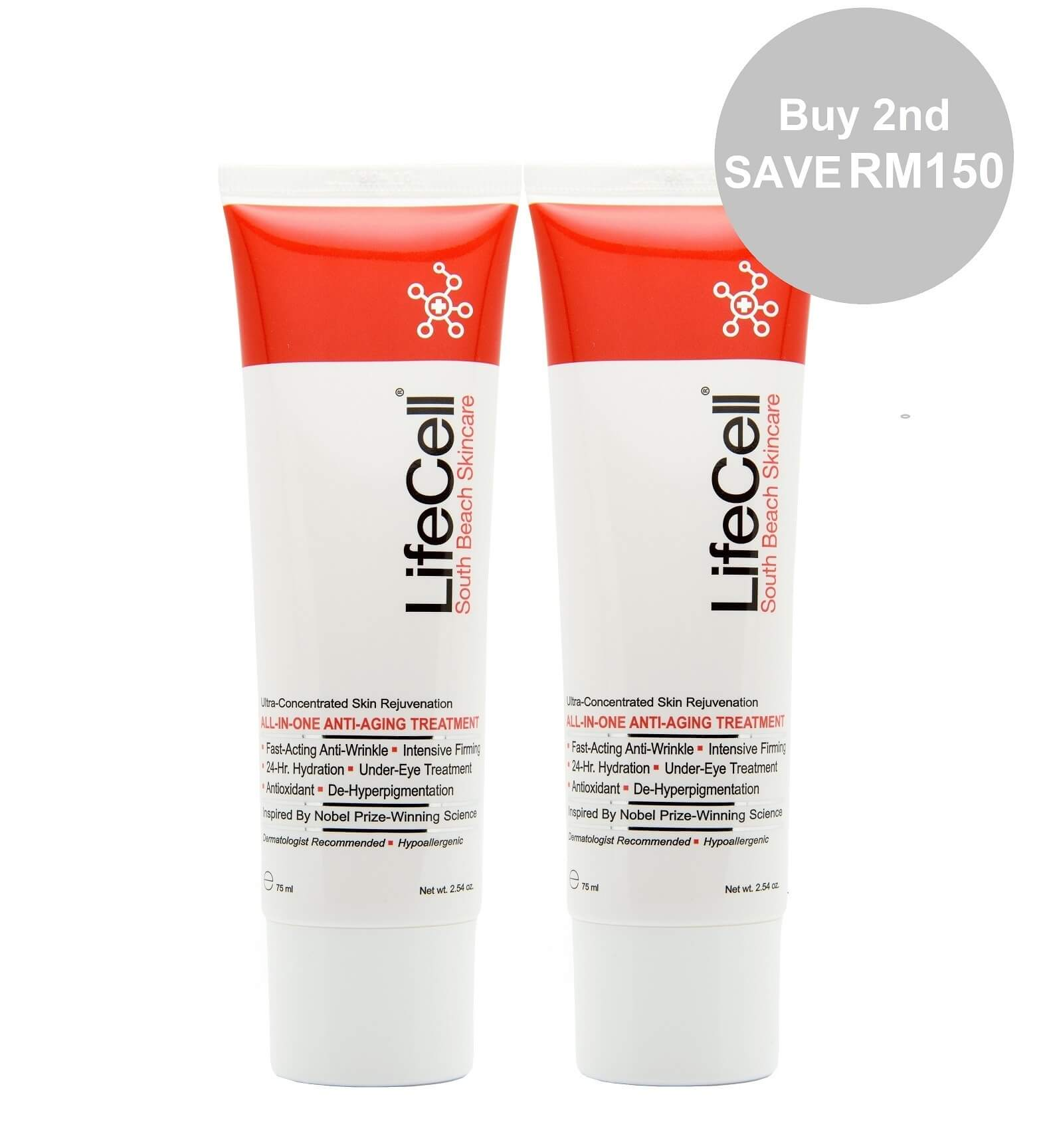 LifeCell All-In-One Anti-Aging Treatment Twin