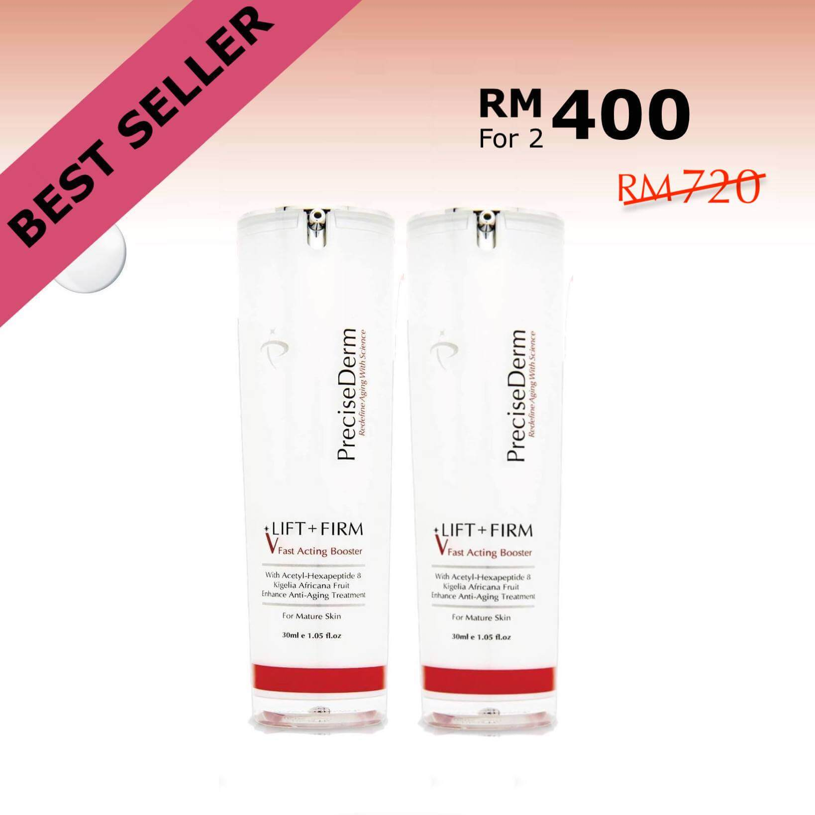 PreciseDerm Lift + Firm Fast Acting Booster Twin